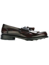 Church's 'Oreham' Loafers Red