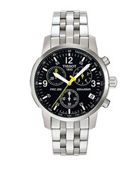 Tissot Mens Prc 200 Quartz Chronograph Classic Watch Silver