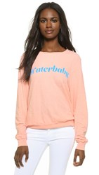 Wildfox Couture Waterbaby Baggy Beach Top Grapefruit