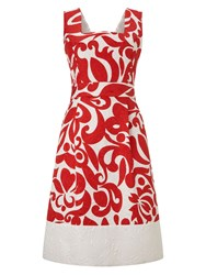 Phase Eight Jubilee Print Dress Multi Coloured
