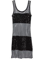 Jean Paul Gaultier Vintage Sequinned Mesh Tank Dress