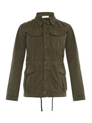 Tomas Maier Cotton Gabardine Field Jacket
