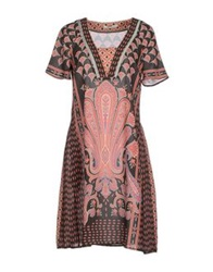 Beatrice. B Short Dresses Rust