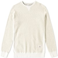 Bedwin And The Heartbreakers Lou Crew Sweat Grey