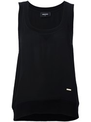 Dsquared2 'Evergreen' Tank Top Black
