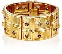 Mahnaz Collection Vintage Women's Andalusite And Yellow Gold Bracelet Gold