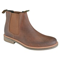Barbour Farsley Slip On Boots Brown