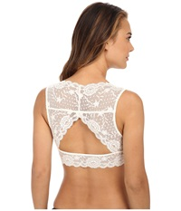Free People Evangelina Crop Bra Ob415171 Ivory Women's Bra White