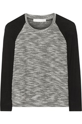 Kain Label Marni Jersey Paneled Boucle Top