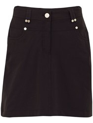 Green Lamb Terri Skort Black