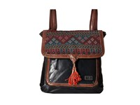 The Sak Ventura Backpack Black Cross Stitch Backpack Bags
