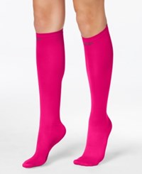 Pretty Polly Women's Compression Socks Hot Pink