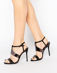 Paper Dolls Heeled Sandals White