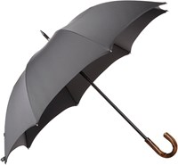 Barneys New York Stripe Stick Umbrella Black