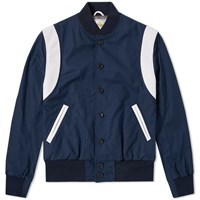 Golden Bear Sportswear Jackson Varsity Jacket Blue