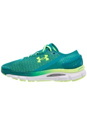 Under Armour Speedform Gemini 2.1 Cushioned Running Shoes Tahitian Teal Turquoise