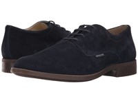 Mephisto Cooper Blue Suede Men's Lace Up Casual Shoes