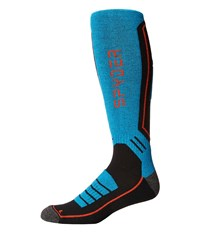 Spyder Sport Merino Sock Black Elb Rage Men's Knee High Socks Shoes Blue