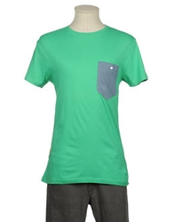 Revolution Short Sleeve T Shirts Green