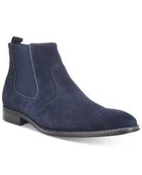 Bar Iii Men's Carson Chelsea Boots Only At Macy's Men's Shoes Navy