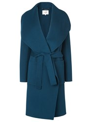 Lk Bennett L.K. Fran Double Faced Coat Green