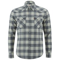 Levi's Men's Barstow Western Shirt Chalky White