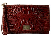 Brahmin Lily Pouch Pecan Handbags Brown