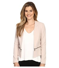 Nydj Zip Waist Jacket Tan Memoir Women's Coat