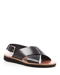 Armando Cabral Essex Criss Cross Sandals Black