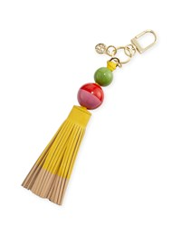Dipped Tassel Key Fob Bag Charm Sunbeam Women's Tory Burch