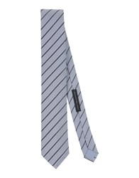 Alessandro Dell'acqua Accessories Ties Men Grey