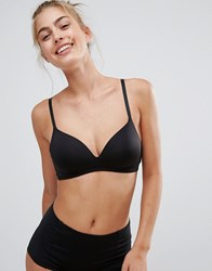 Monki Moulded Cup Bra Black