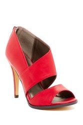 Michael Antonio Lovely Peep Toe Heel Red