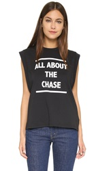 Minkpink About The Chase Tee Black