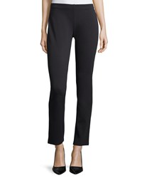 Eileen Fisher Slim Stretch Ponte Pants Women's Chocolate