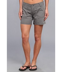 Prana Tess Short Gravel Women's Shorts Silver