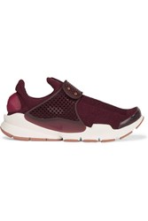 Nike Sock Dart Knitted Sneakers Burgundy