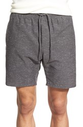 Men's Obey 'Palmer' Nepped Drawstring Shorts