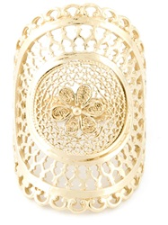 Wouters And Hendrix Filigree Ring Metallic
