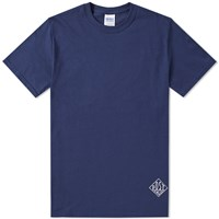 Post Overalls Classic Dial Tee Blue