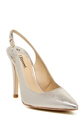J. Renee Kinsley Slingback Pump Wide Width Available Beige