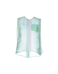 Felipe Oliveira Baptista Tops Light Green