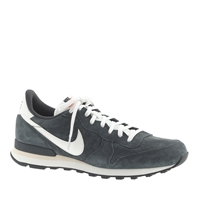 J.Crew Men's Nike Limited Edition Pdx Internationalist Mid Sneakers Anthracite
