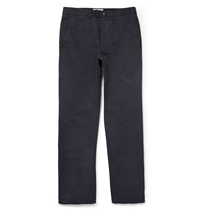 Officine Generale Fisherman Cotton Twill Chinos Blue