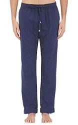 Barneys New York Men's Dotted Pajama Pants Blue