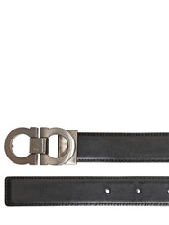 Salvatore Ferragamo 30Mm Reversible Adjustable Leather Belt