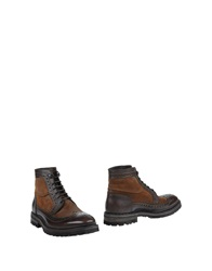 Barracuda Ankle Boots Cocoa