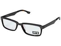Spy Optic Holden Brushed Gunmetal Dark Tort Reading Glasses Sunglasses Clear