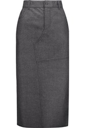 Tom Ford Cashmere Skirt Dark Gray