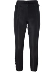 Dsquared2 'Livery Tenent Icon' Cropped Trousers Black